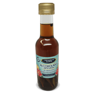 Artisanal Alcoholado made with malagueta or West Indian bay
