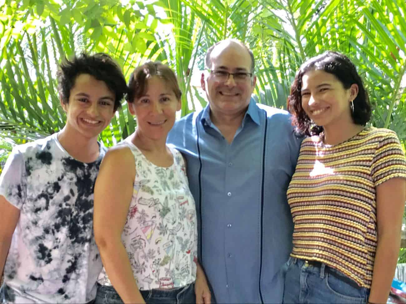Caribbean Soaps Family with owner Alexis Sotomayor