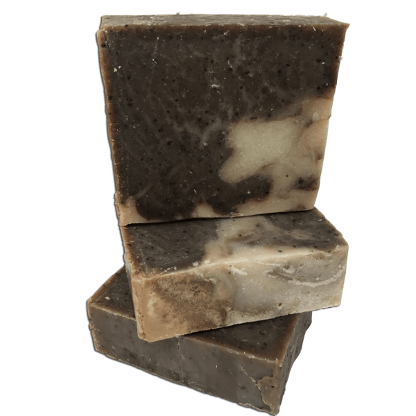 Stack Puerto Rican coffee handmade soap from Caribbean soaps Puerto Rico 4.25 oz