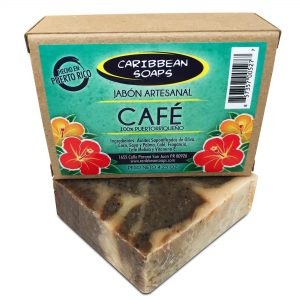 Puerto Rican coffee handmade soap from Caribbean soaps Puerto Rico 4.25 oz