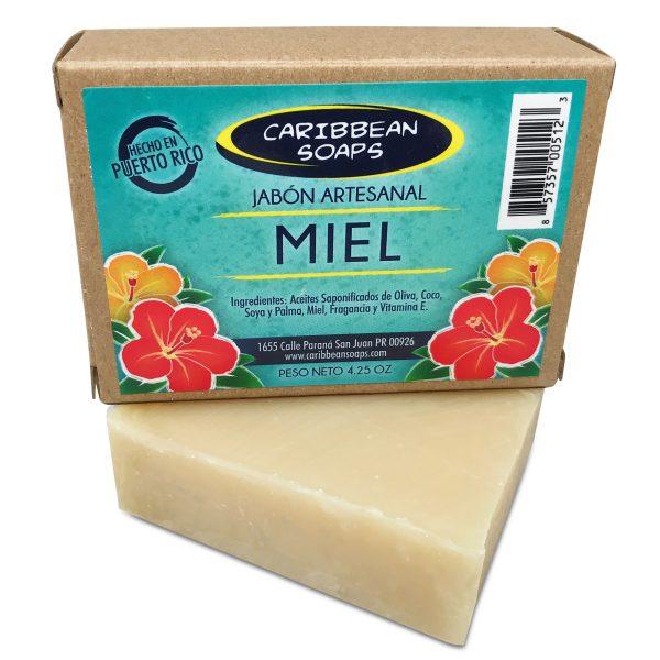 Honey handmade soap from Caribbean soaps Puerto Rico 4.25 oz