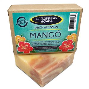 Mango handmade soap 4.25 oz From Caribbean Soaps in Puerto Rico