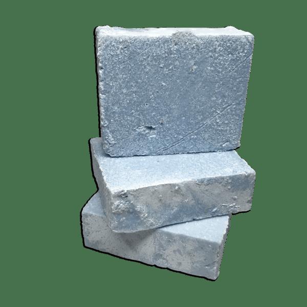 Pila de Jabón exfoliante de sal marina Océano 4.25 onzas preparado por Caribbean Soaps hecho en Puerto Rico