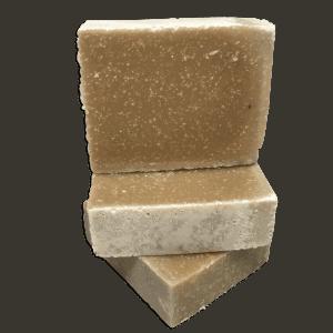 pila de jabón artesanal de azufre hecho en puerto rico mejor barra para el acné corporal y la psoriasis 4.25 oz preparado por Caribbean Soaps