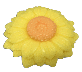 Sunflower glycerin handmade soap prepared by Caribbean Soaps made in Puerto Rico 3.5 oz