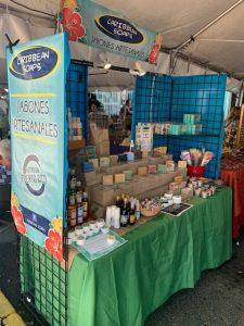 Festival artisan setup Jayuya