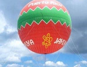 Aerostatic balloon Jayuya puerto rico