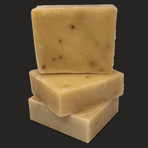Pila de jabón artesanal de Limoncillo preparado por Caribbean Soaps hecho en Puerto Rico 4.25 onzas