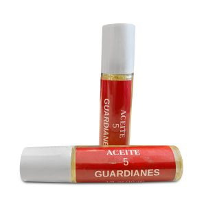 5 guardians oil in roll-on with thieves oil 1/3 oz. prepared by caribbeansoaps made in puerto rico