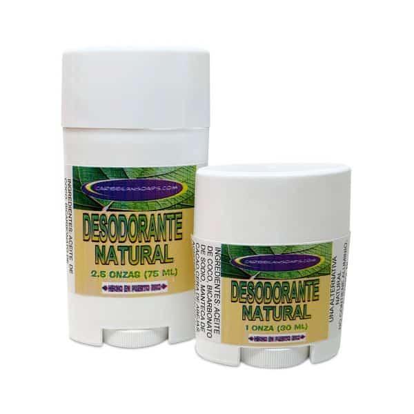 desodorante desodorante natural caribbean soaps